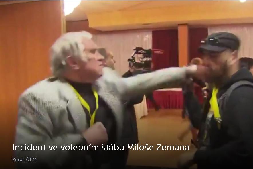 5 otázek pro voliče Miloše Zemana