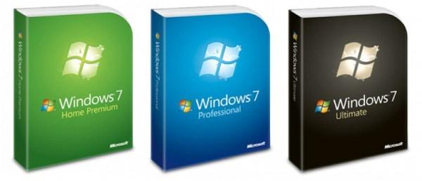 Edice Windows 7